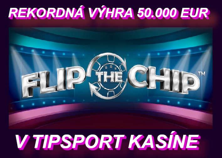 Top výhra v Tipsport online kasíno za posledný týždeň v online automate | Hrajte FLIP the CHIP online automaty v Tipsport kasino