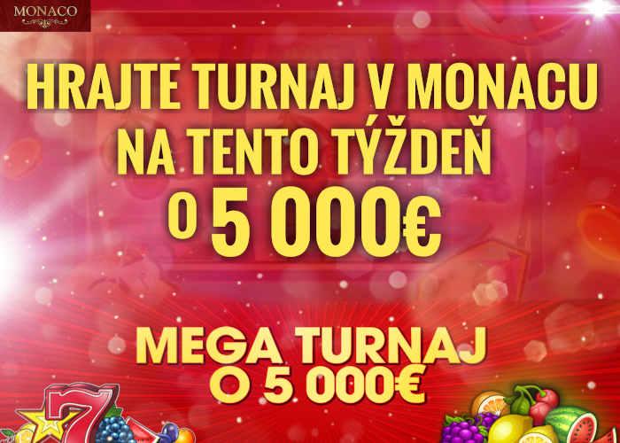 Monaco bet kasino turnaj