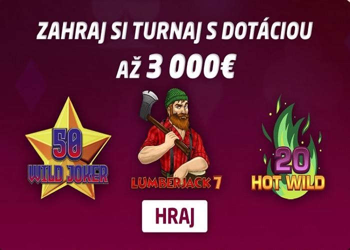 Synottip kasino turnaj v online automatoch číslo 2 o 3.000 eur  zahraj turnaj o pený balík peňazí